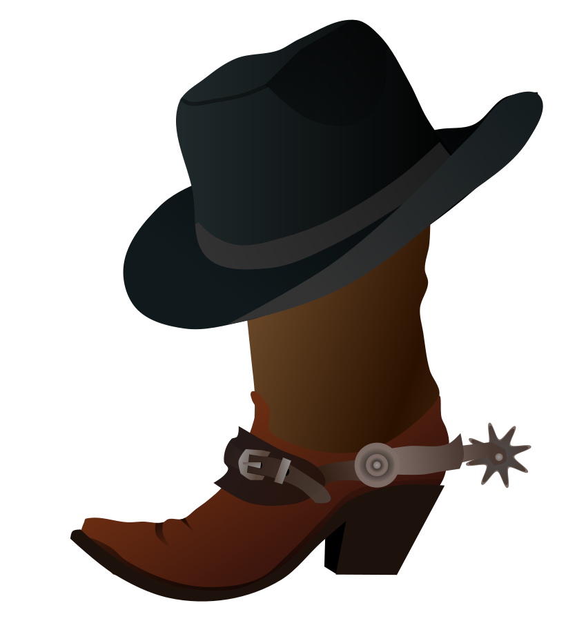 Cowboy Hat Designs Cowboy Boot And Hat Svg
