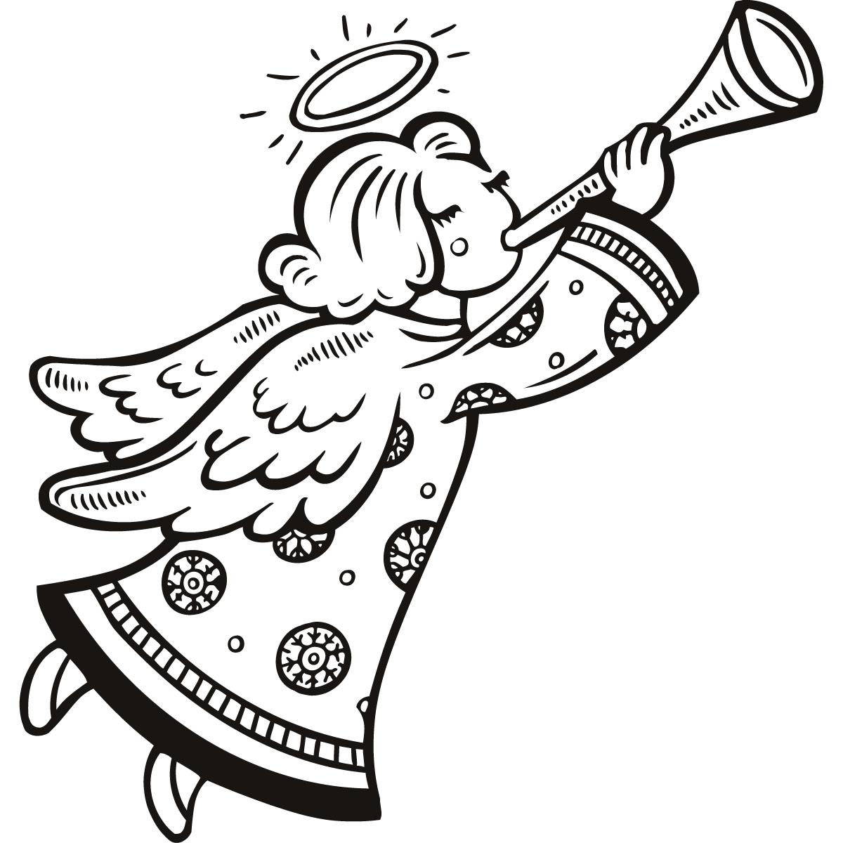 Similiar Black Christmas Angels Clip Art Keywords
