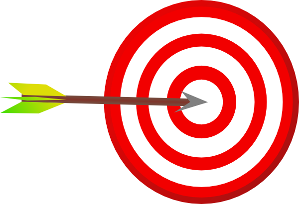 clip art target bullseye - photo #25