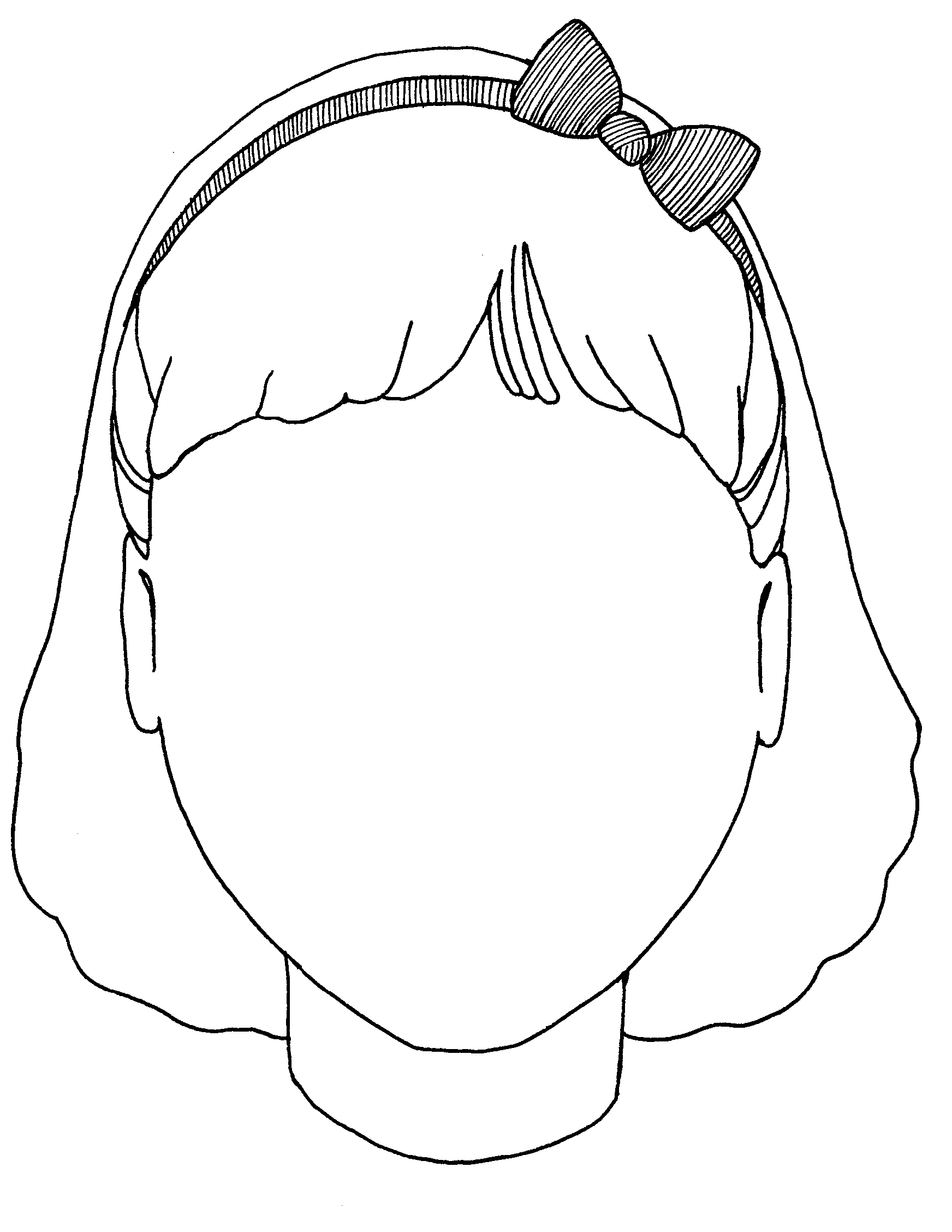 human head coloring pages - photo#8