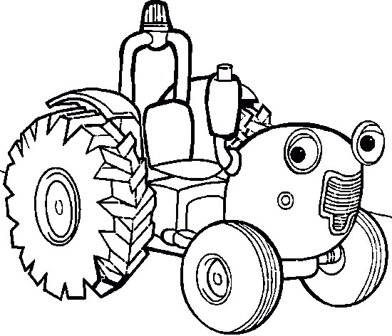 tractor tom coloring pages - photo#7