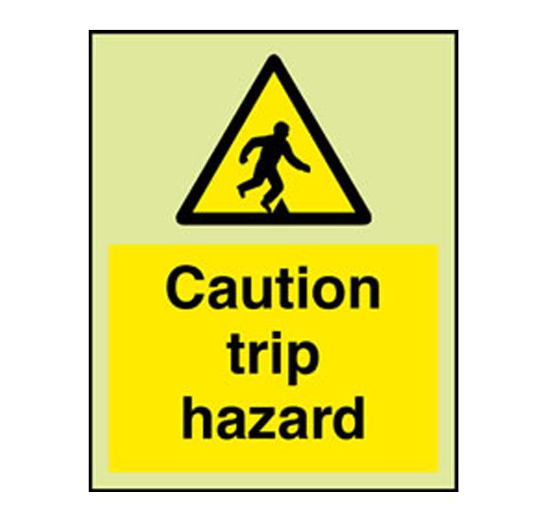 Large Yellow Trip Hazard Caution Sign - ClipArt Best - ClipArt Best