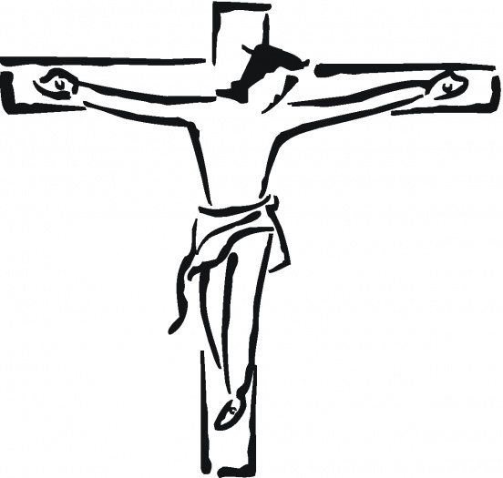 Jesus On The Cross Drawings ClipArt Best
