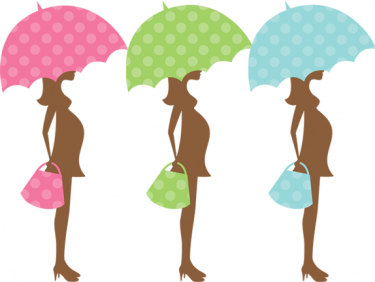 Clip Art Pregnant Woman Baby Shower Clipart