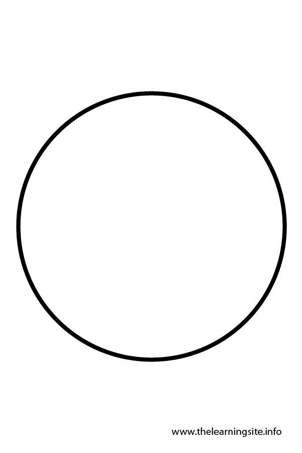 Outline Circle Printable
