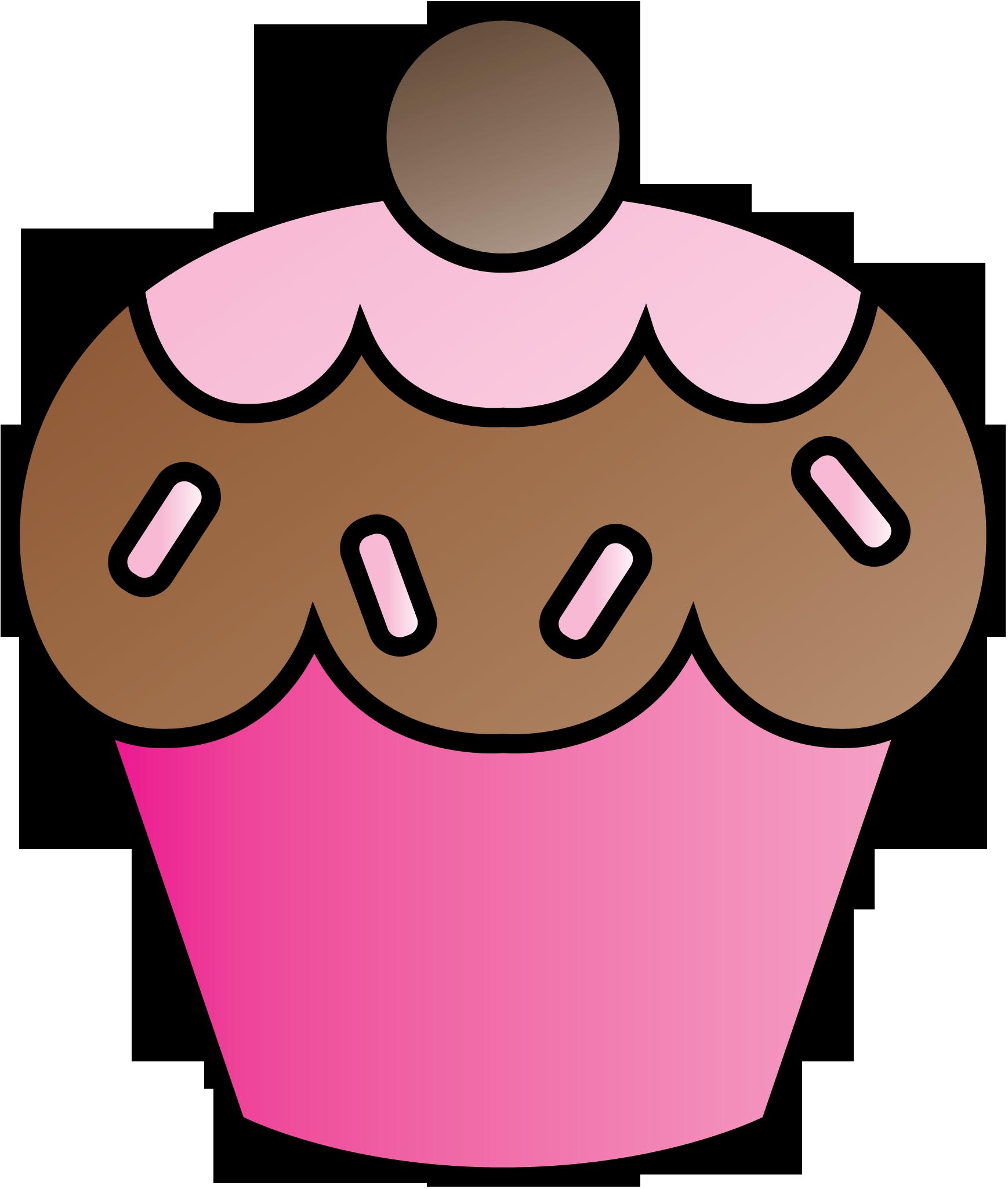 Cupcake Clipart Border - ClipArt - 157.4KB