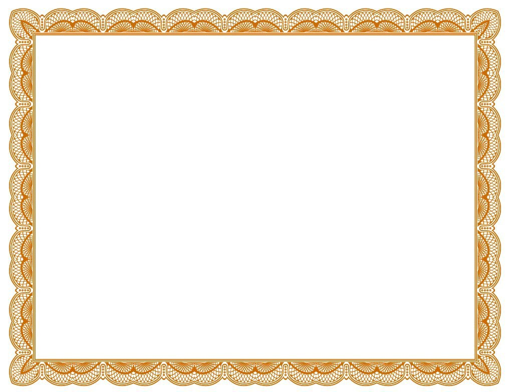 Certificate Borders Free Download contract template word promise – Free Certificate Border Templates for Word