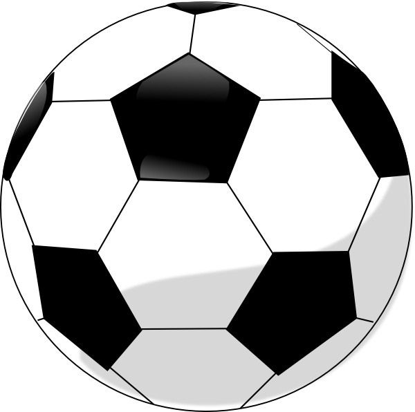 Clip Art Soccerball Clipart printable picture of a soccer ball clipart best free clip art ball
