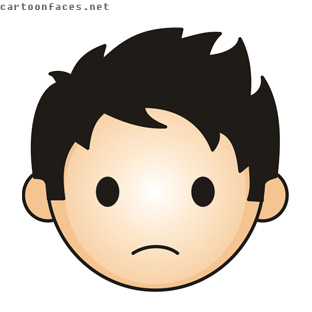 Sad Face Cartoon - ClipArt Best