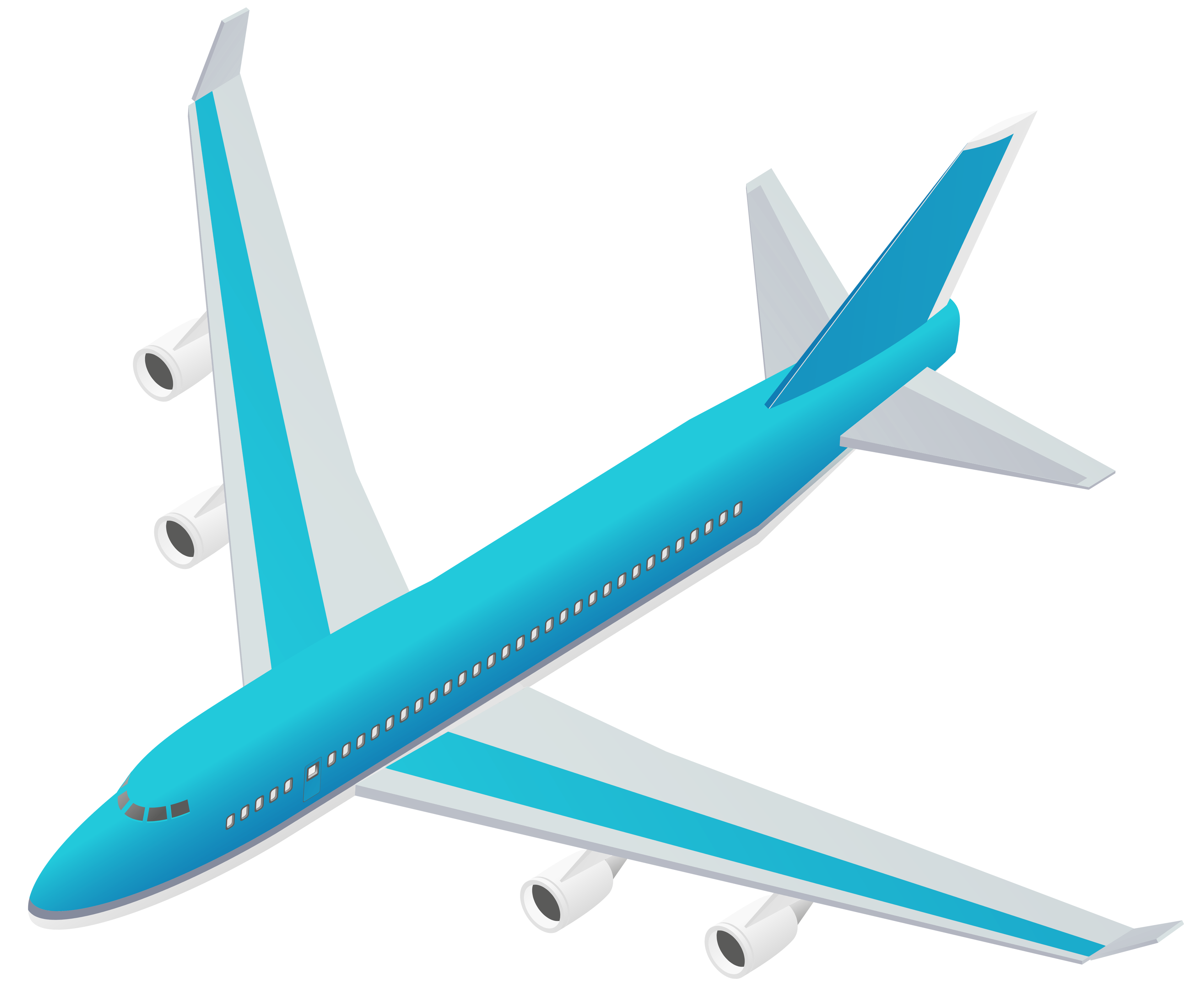 airplane clipart transparent background - photo #6