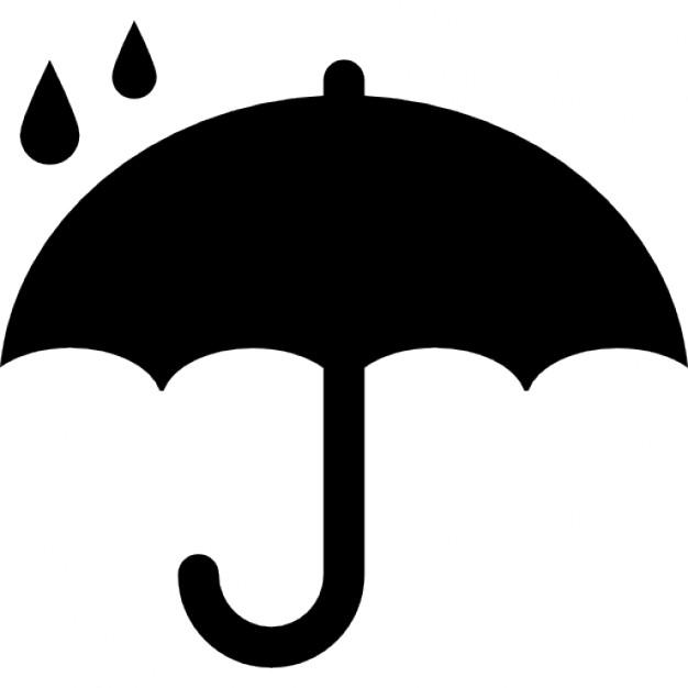 Black Umbrella Vector - ClipArt Best