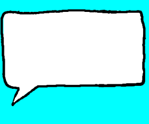 Blank Comic Book Speech Bubble. - ClipArt Best - ClipArt Best