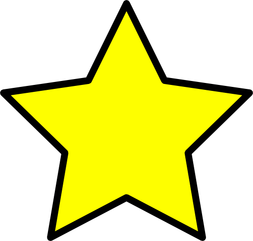 Yellow Star Clipart Royalty Free Public Domain Clipart