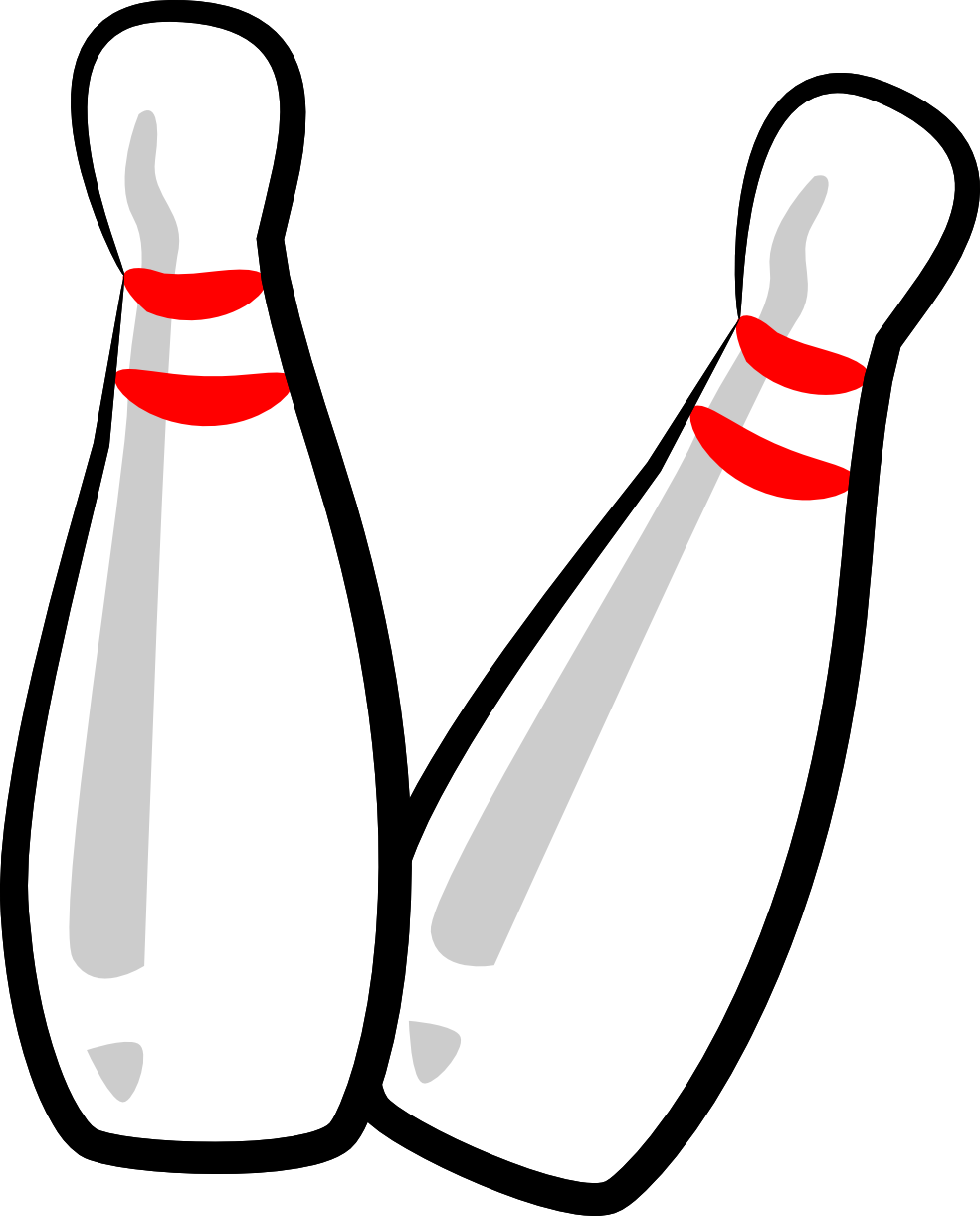 Bowling Pin Clipart - ClipArt Best