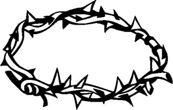 Crown Of Thorns Clip Art