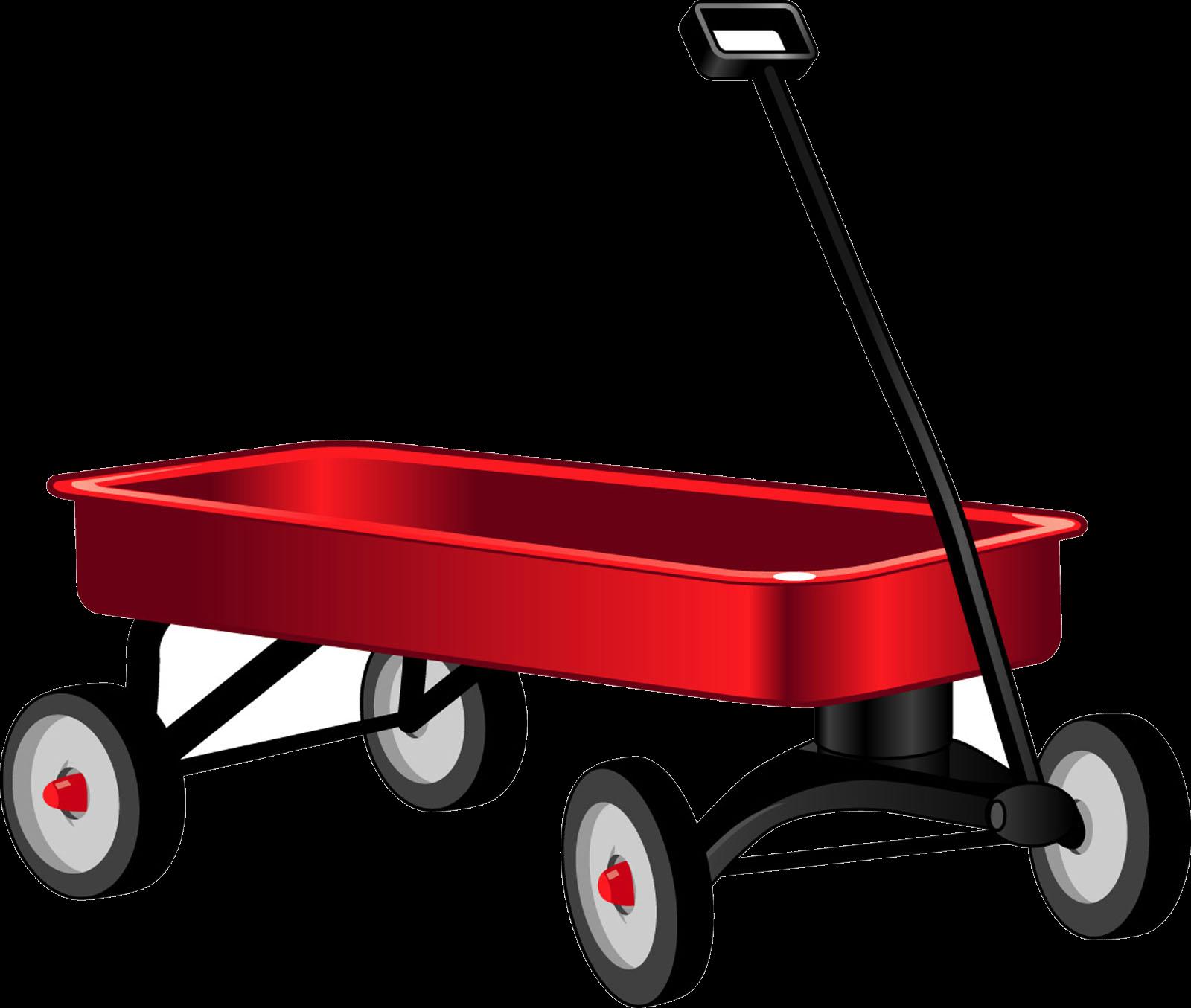 Red wagon clip art