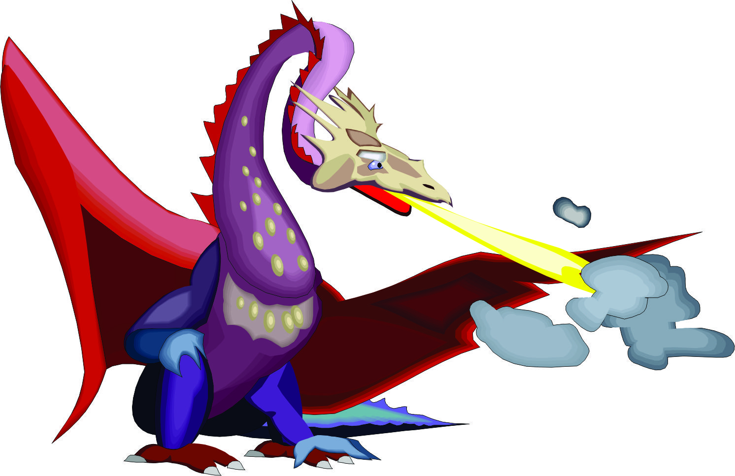 Pictures of Cartoon Dragons Breathing Fire Fire · Cartoon Dragons