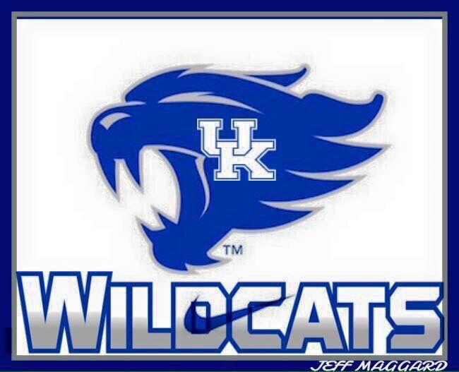 Uk Basketball Clip Art: Pictures Of The Kentucky Wildcats Logo