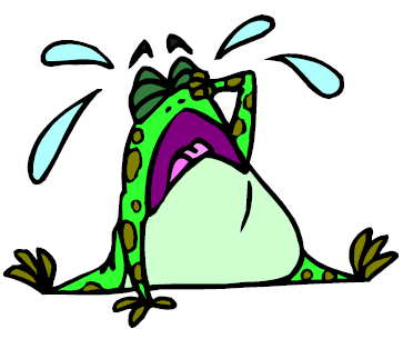 sad frog clipart best frog and toad clipart Cute Green Frog