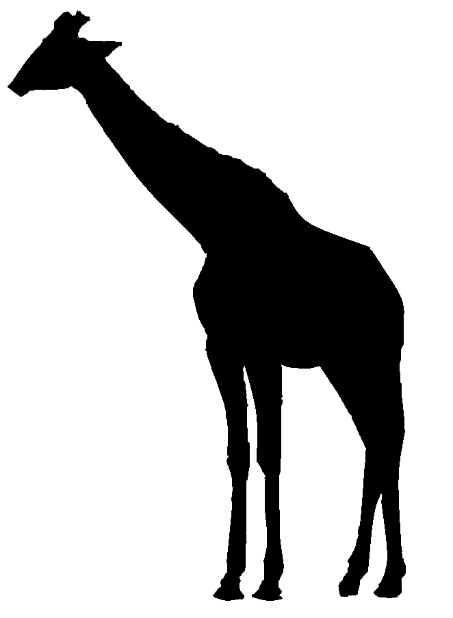 Giraffe Silhouettes Png Clipart Best