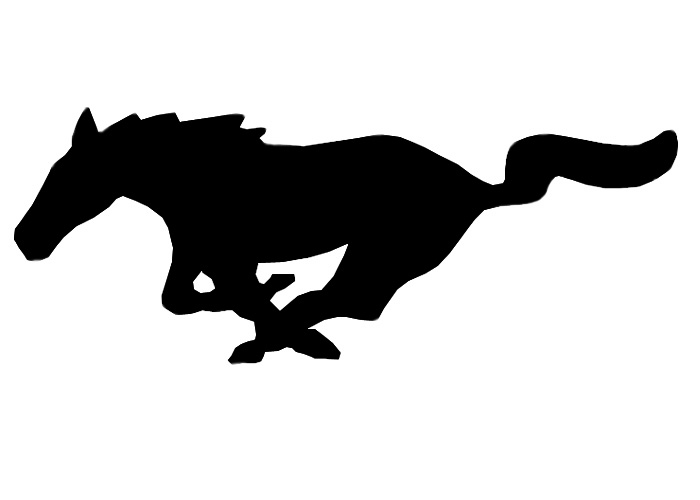 Mustang logo clipart best - Ford mustang logo outline ...