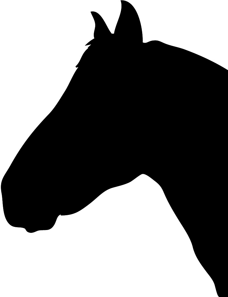 horseshoe silhouette clip art - photo #38