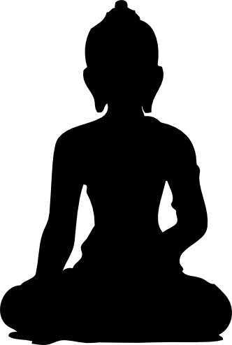 Buddha Silhouette - ClipArt Best