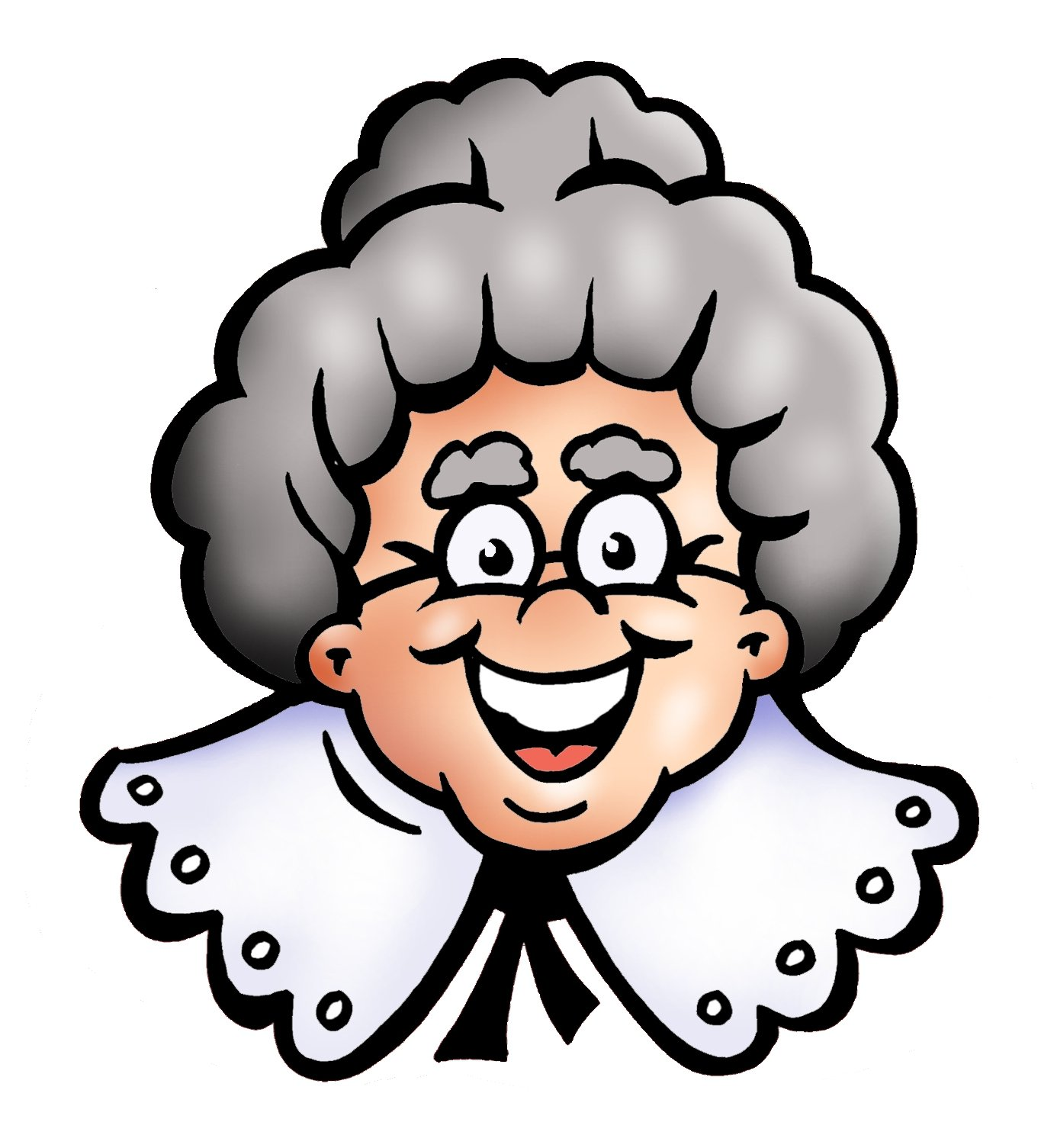 Grandma Cartoon - ClipArt Best