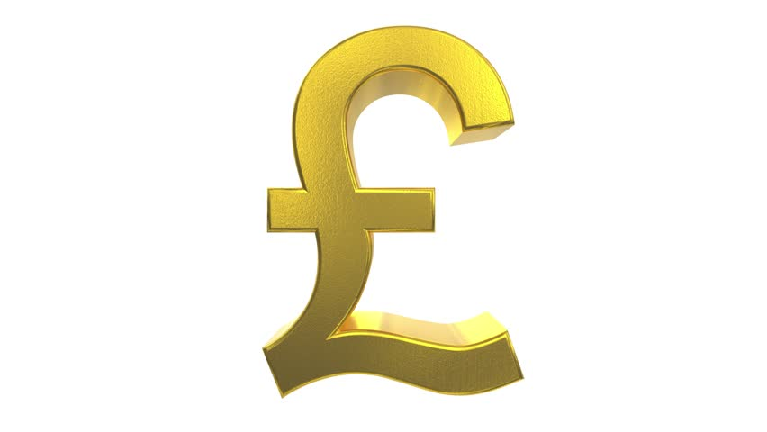 Broken Pound Symbol Stock Footage Video 2915689 - Shutterstock