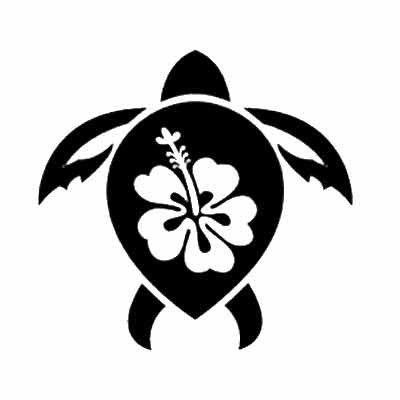 Hawaii Stencil - ClipArt Best