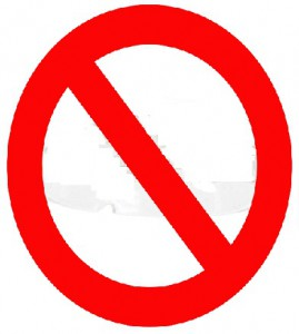 Ban Sign - ClipArt Best