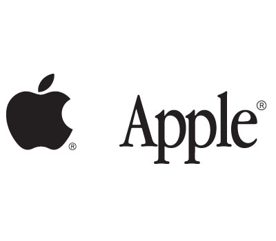 Black And White Apple Logo - ClipArt Best
