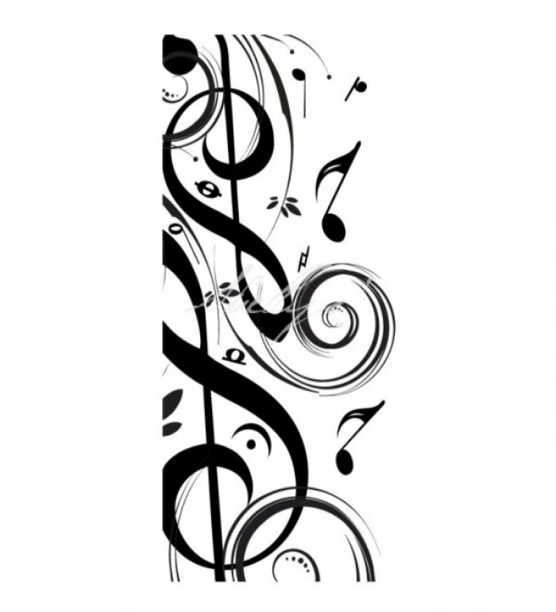 Line Art Music Notes : Music note artwork clipart best