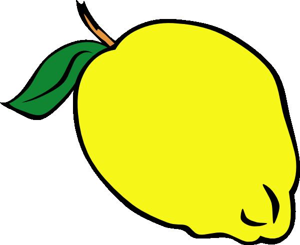 Whole Lemon clip art Free Vector - ClipArt Best - ClipArt Best Lemon