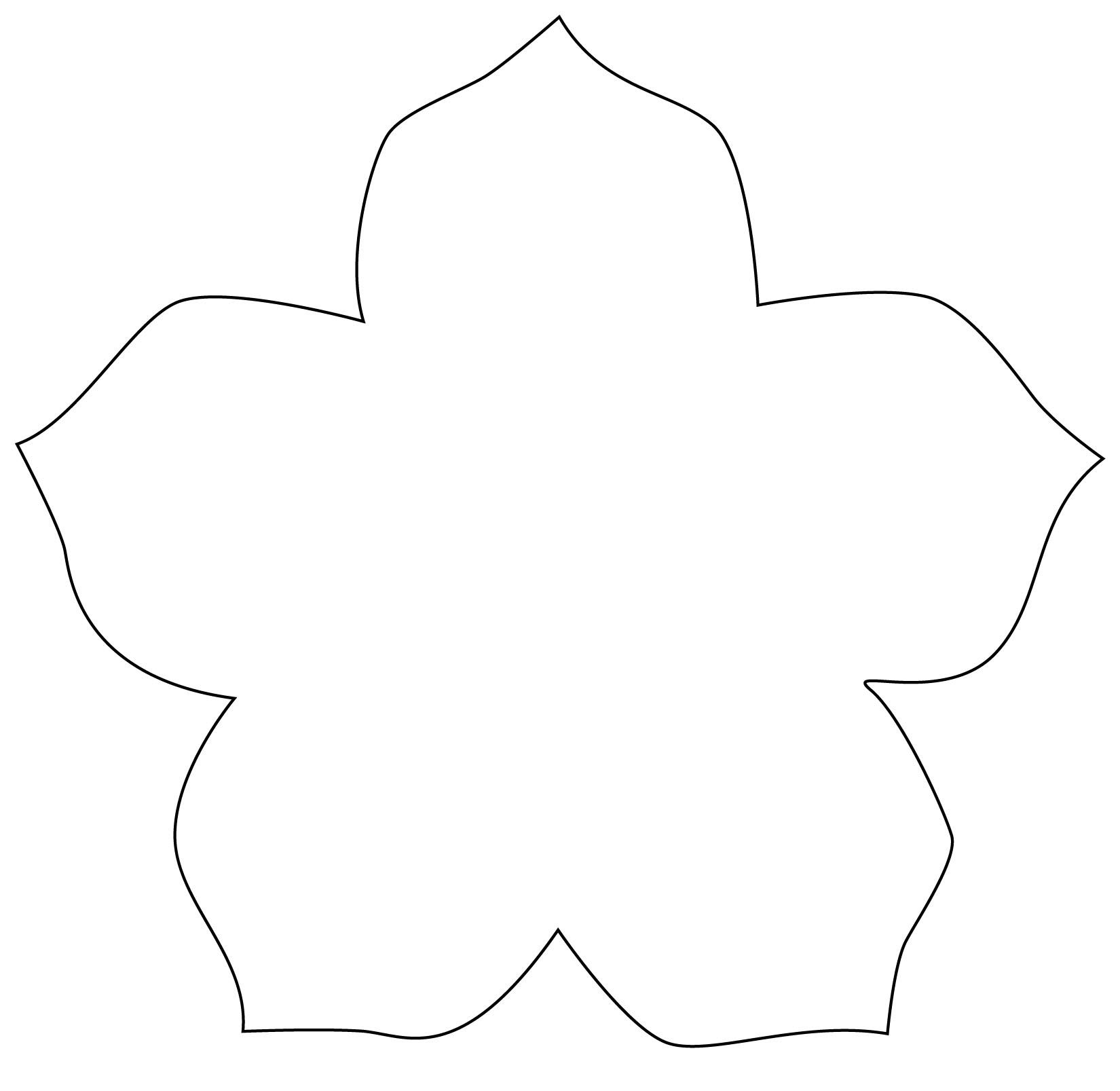 template of shapes
