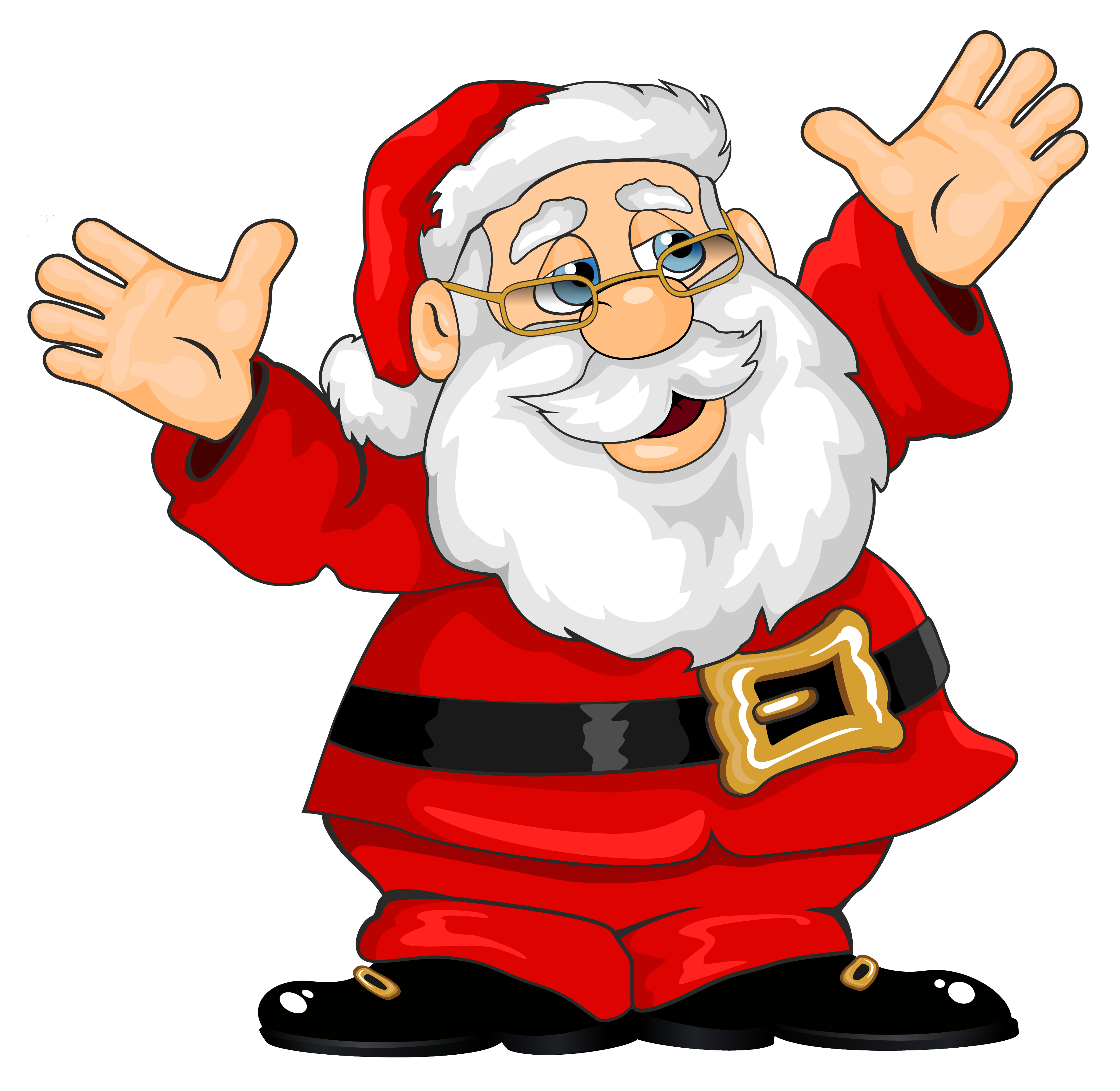 free clip art father christmas - photo #9