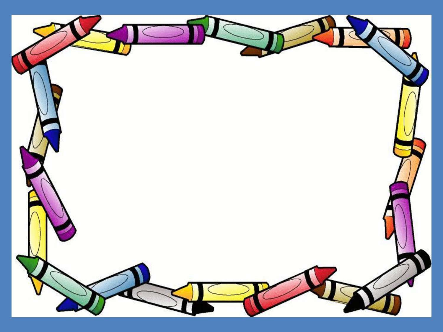 Crayon Border For Microsoft Word - ClipArt Best