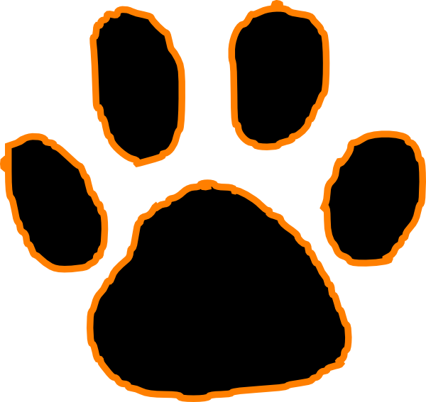 Panther Paw Print Clip Art - ClipArt Best