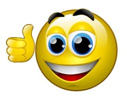 Smiley face thumbs up animation clipart panda free clipart images