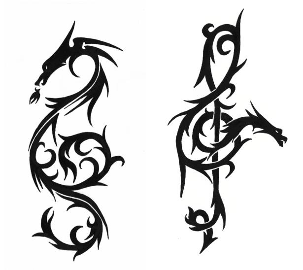 Music Clefs Heart Clef Tattoo Design · Heart