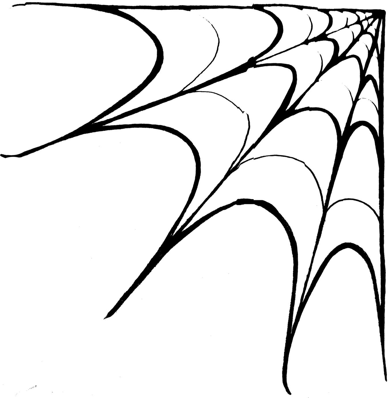 Web Spider Tool Corner Spider Web Vector