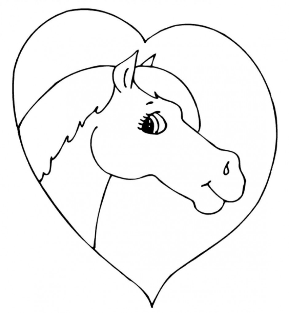 Earth Heart Coloring Page