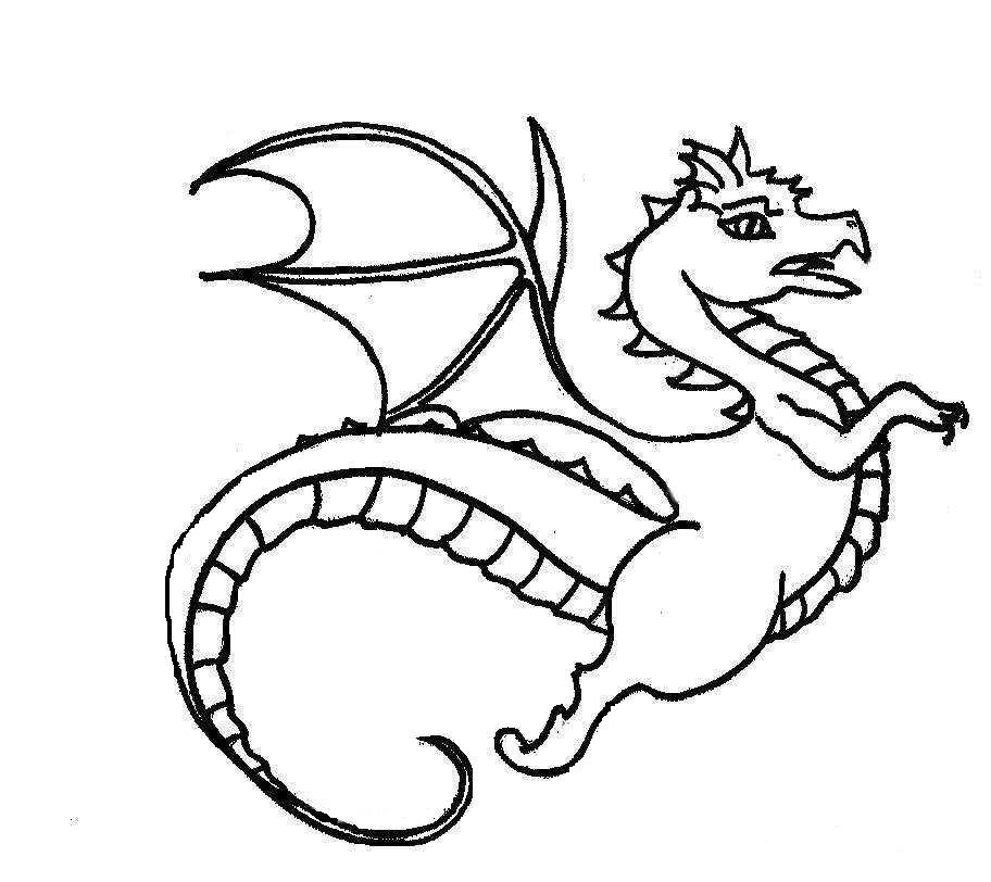 Dragons Drawings For Kids Kids Dragon Pictures