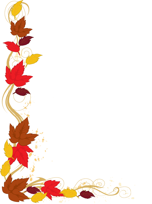 Thanksgiving Border Clipart - Free Clipart Images