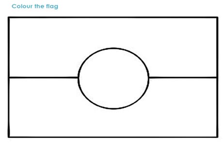 Aboriginal flag free coloring pages for Metis flag coloring page