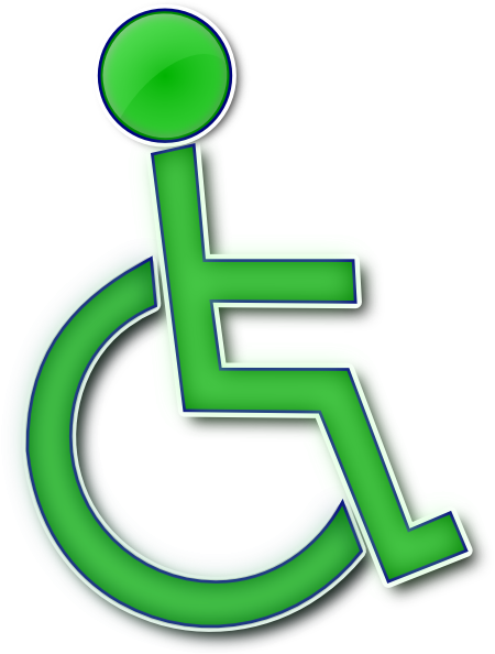 Printable Handicap Sign - ClipArt Best