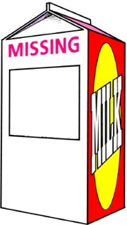 Milk Carton Missing Person Template - ClipArt Best
