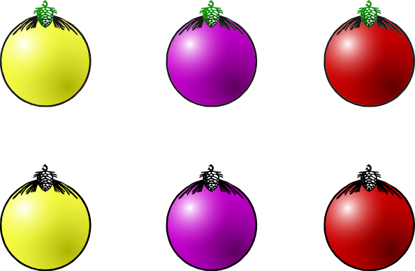 Christmas balls animated clipart best