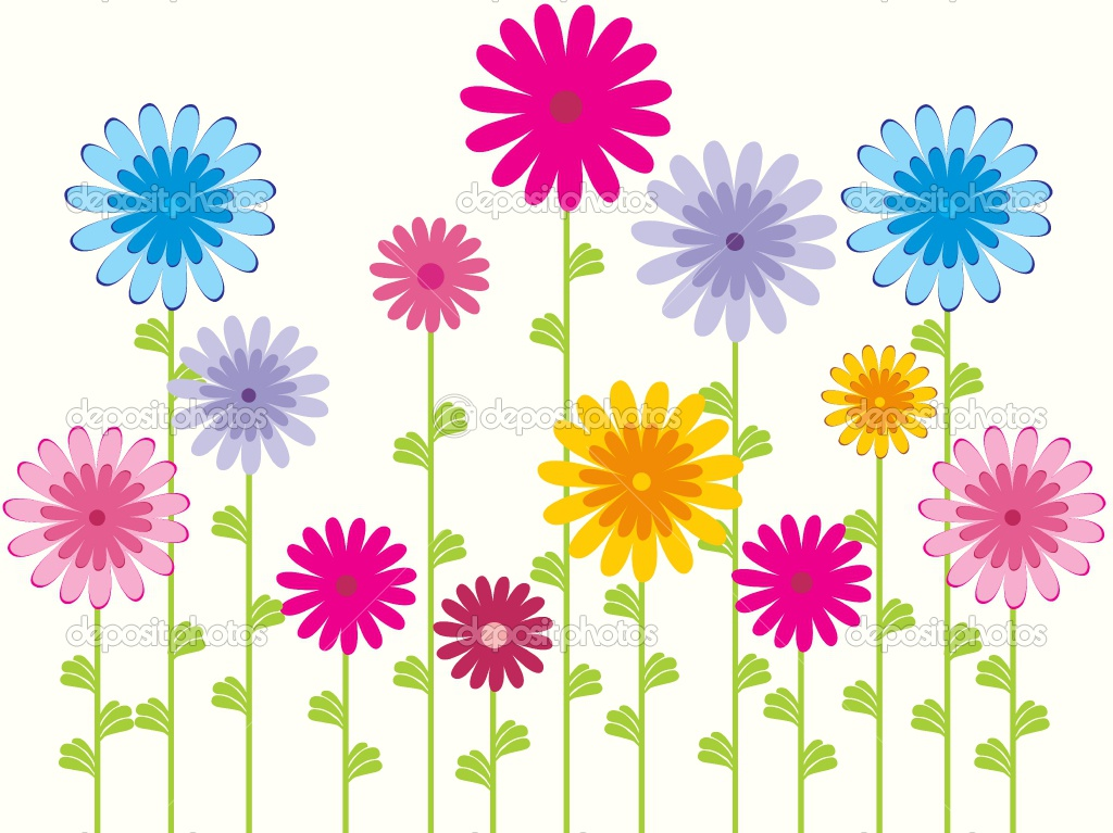 Colorful Flower Pattern Wallpaper Wallpapers Flower Pattern And