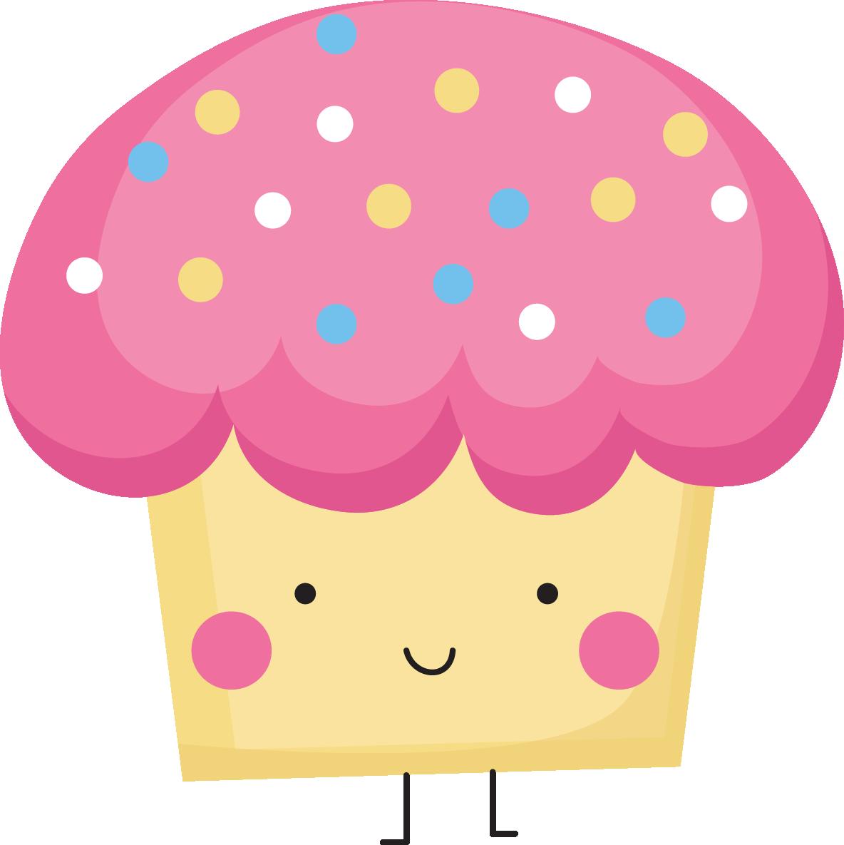 Cupcake Design Png : Cupcake Border - ClipArt Best